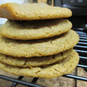 Peanut Butter Honey Cookies