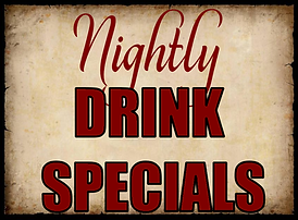 Trainwreck Westport Drink Specials