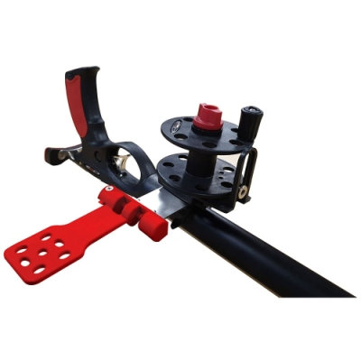 Plastic camera support red