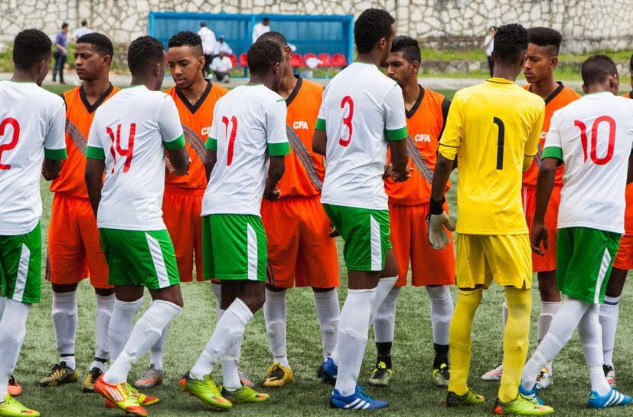 Somaliland vs chago islands hand shake.j