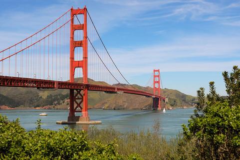 Across The Golden Gate Strait