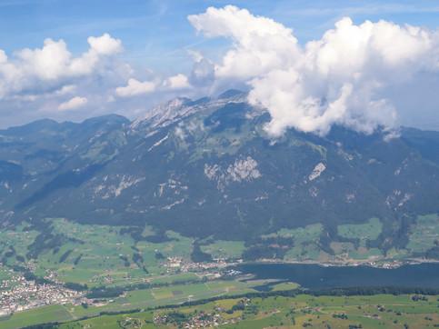 Mountain-Cloud Collision