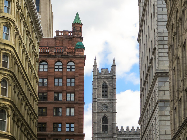 Architecture of Old Montreal