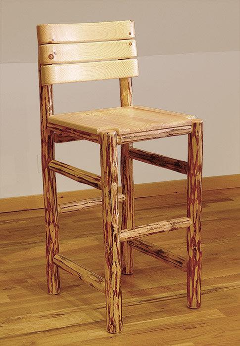 Mountain Hewn Saloon Bar Chair
