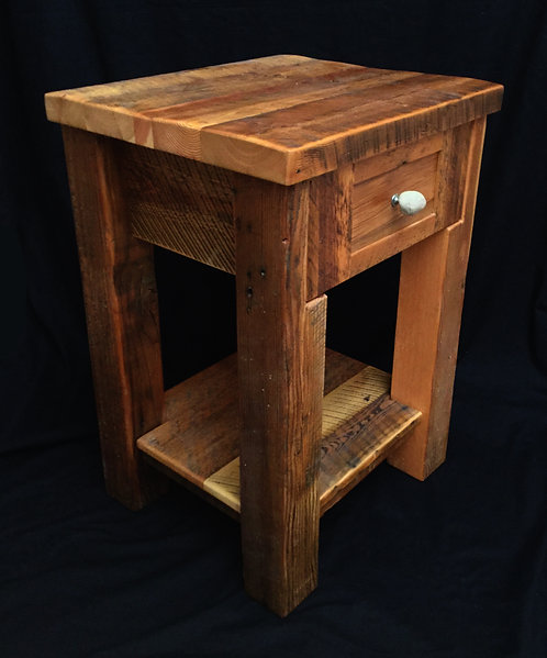 Rustic Heritage 1 Drawer Nightstand