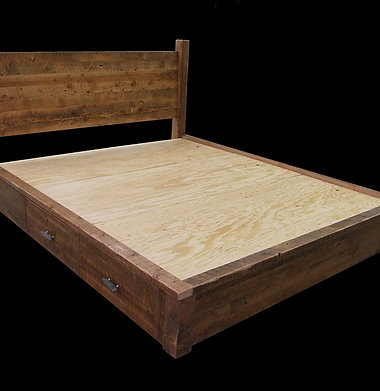 Rustic Heritage Drawer Bed