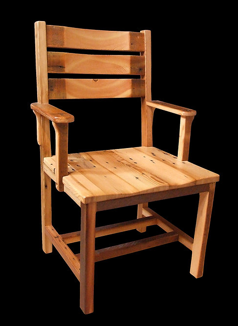 Rustic Heritage High Back Arm Chair