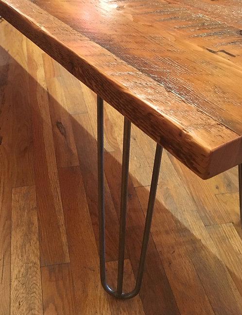 Rustic Heritage Hairpin Leg Bench
