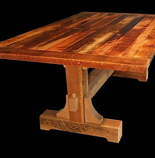 Rustic Heritage Mill Boss Table