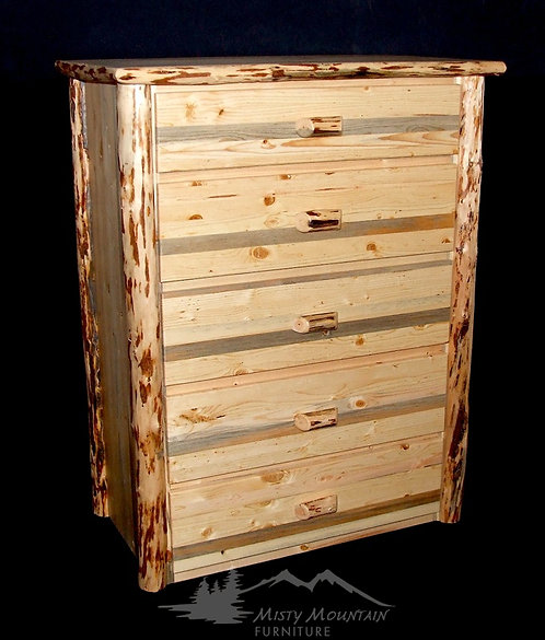 Mountain Hewn 5 drawer Dresser