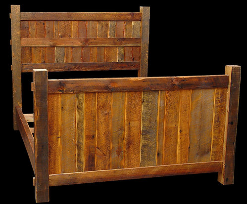 Rustic Heritage Timeless Timber Bed