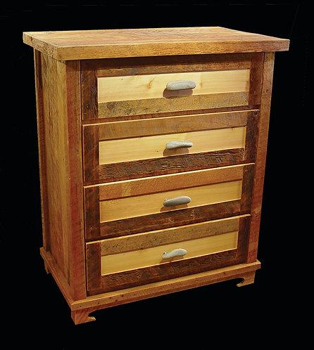 Rustic Heritage 4 Drawer Dresser