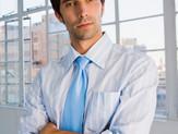 jeune homme d'affaires