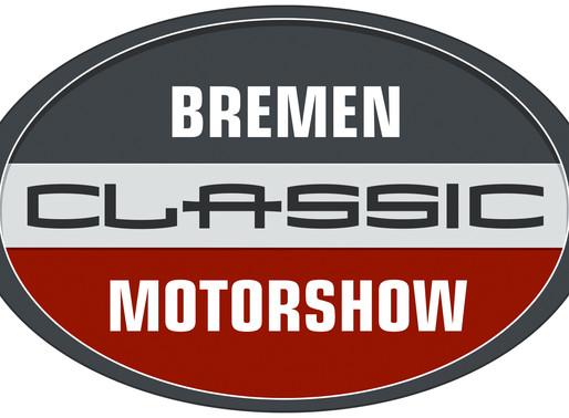 31.Januar-02.Februar 2020 stellen wir auf der Bremen Classic Motorshow aus. Wir freuen uns auf Sie!