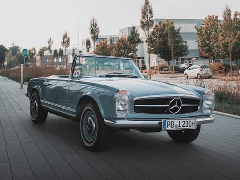 Siegerfahrzeug auf dem Concours d´Élégance am Tegernsee 2020
