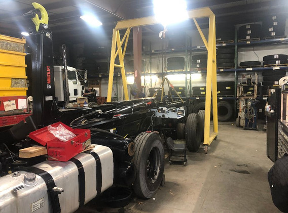 Truck & Tire Repair Shop   Quality Truck and Tire   Clare, MI 48617