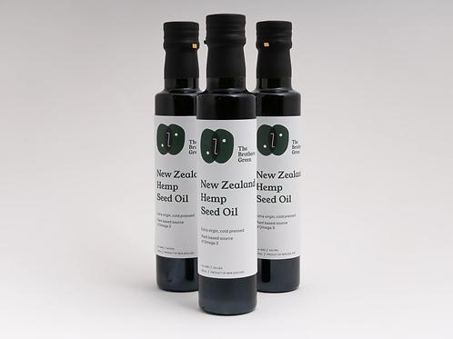 New Zealand Hemp Seed Oil (250ml)