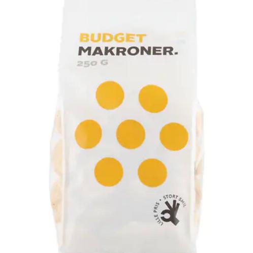 Budget Makroner