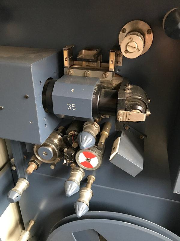 tesla meopta filmový snímač