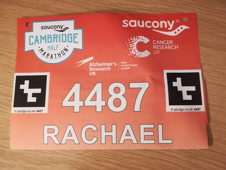 Rachael's Half-Marathon Fundraiser