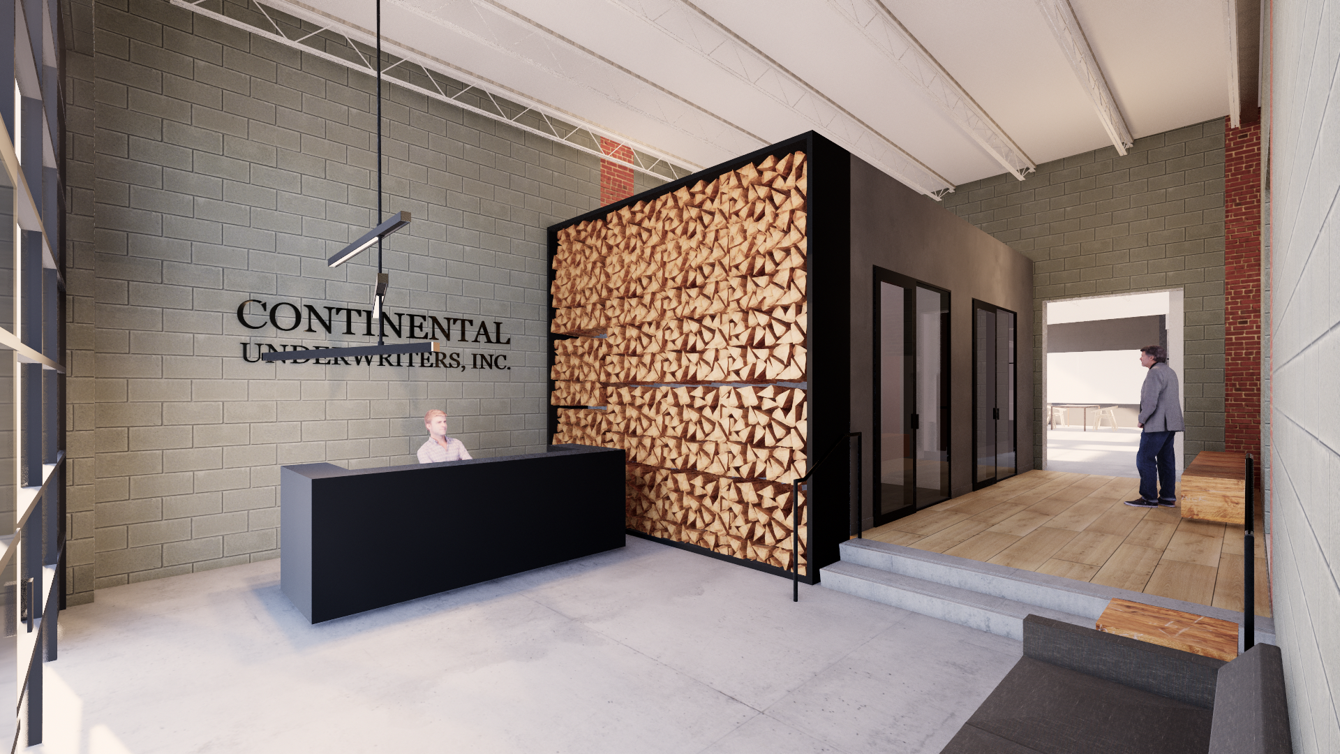 Continental Undwriters (Rendering by Fultz and Singh Architects)