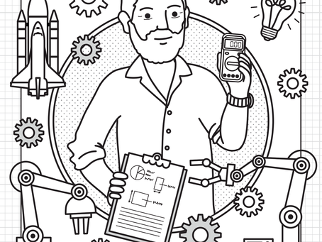 Color An Engineer