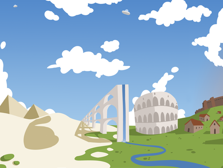 Term 2 - Week 17 - Animated Sketch Book - Panorama