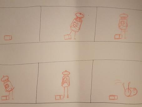 Term 3 - Week 21 - Mystery Box - Storyboarding