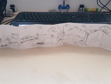 Term 2 - Week 15 - Animated Sketch Book  - Panorama