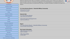 How to report poor or excellent service on base