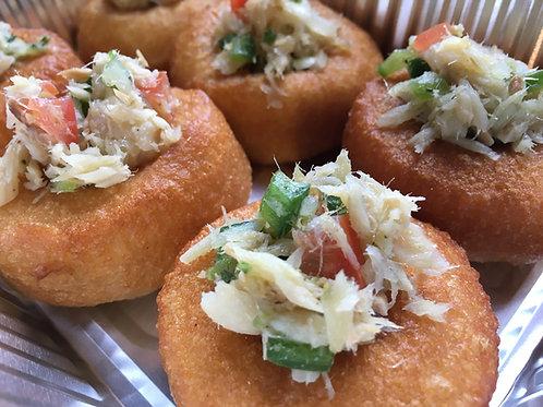 Bake and Saltfish Bites