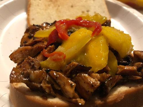 Mango Jerk Chicken Sandwich(2)