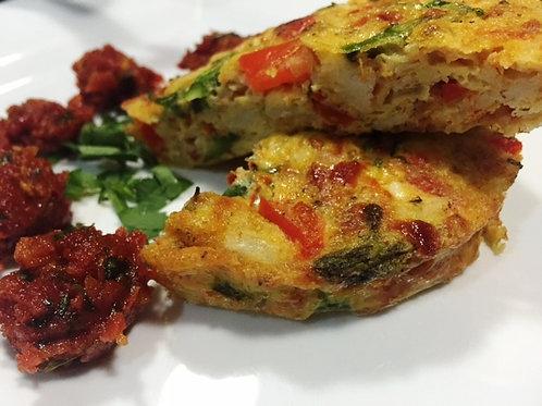 Crab & Asparagus Omelette