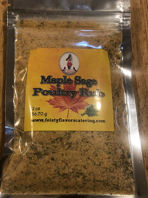 Maple Sage Poultry Rub