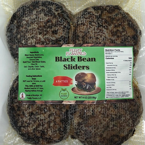 Black Bean Burger Sliders(4 pk)