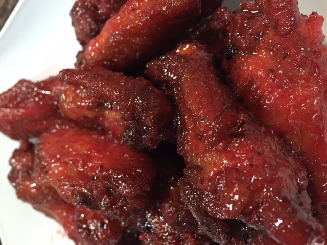 Sorrel Glazed Wings