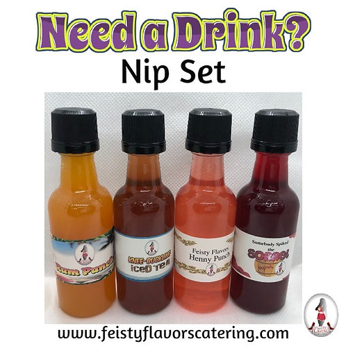 Need a Drink? Nip Set