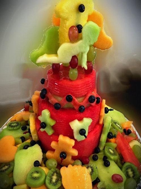 3 Tier Watermelon Cake