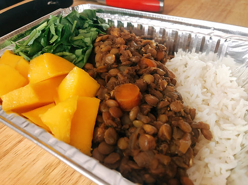 Lentil Rice Bowl