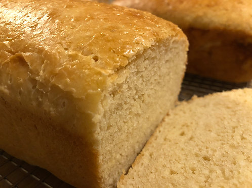 Vegan Homestyle White Bread
