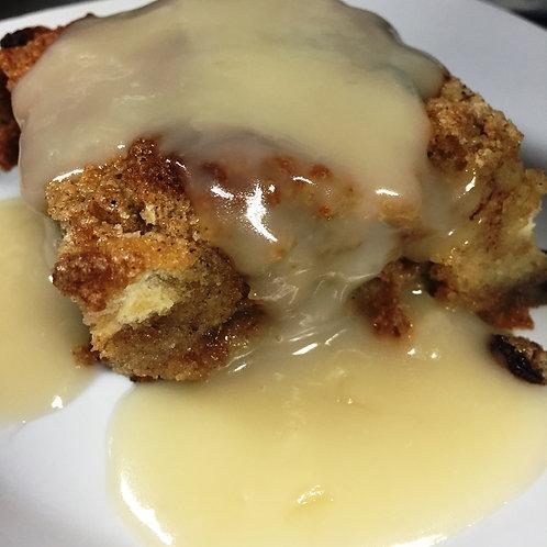 Bread Pudding w/Rum Sauce