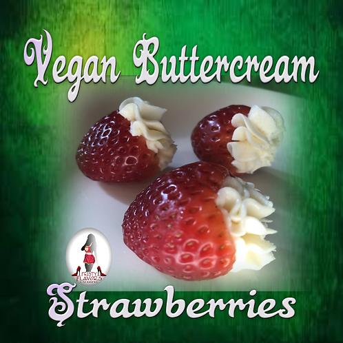 Vegan Buttercream Strawberries