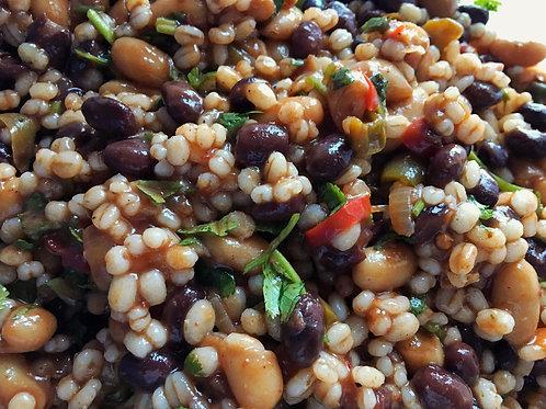 Chipotle BBQ Bean and Barley Salad