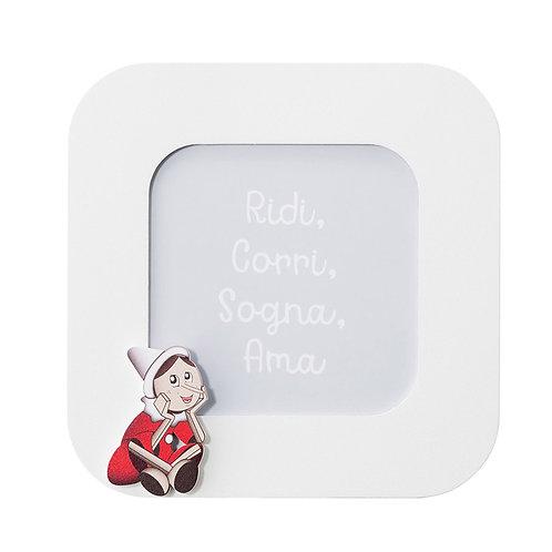 Portafoto Pinocchio – 17,5 x 17,5 cm