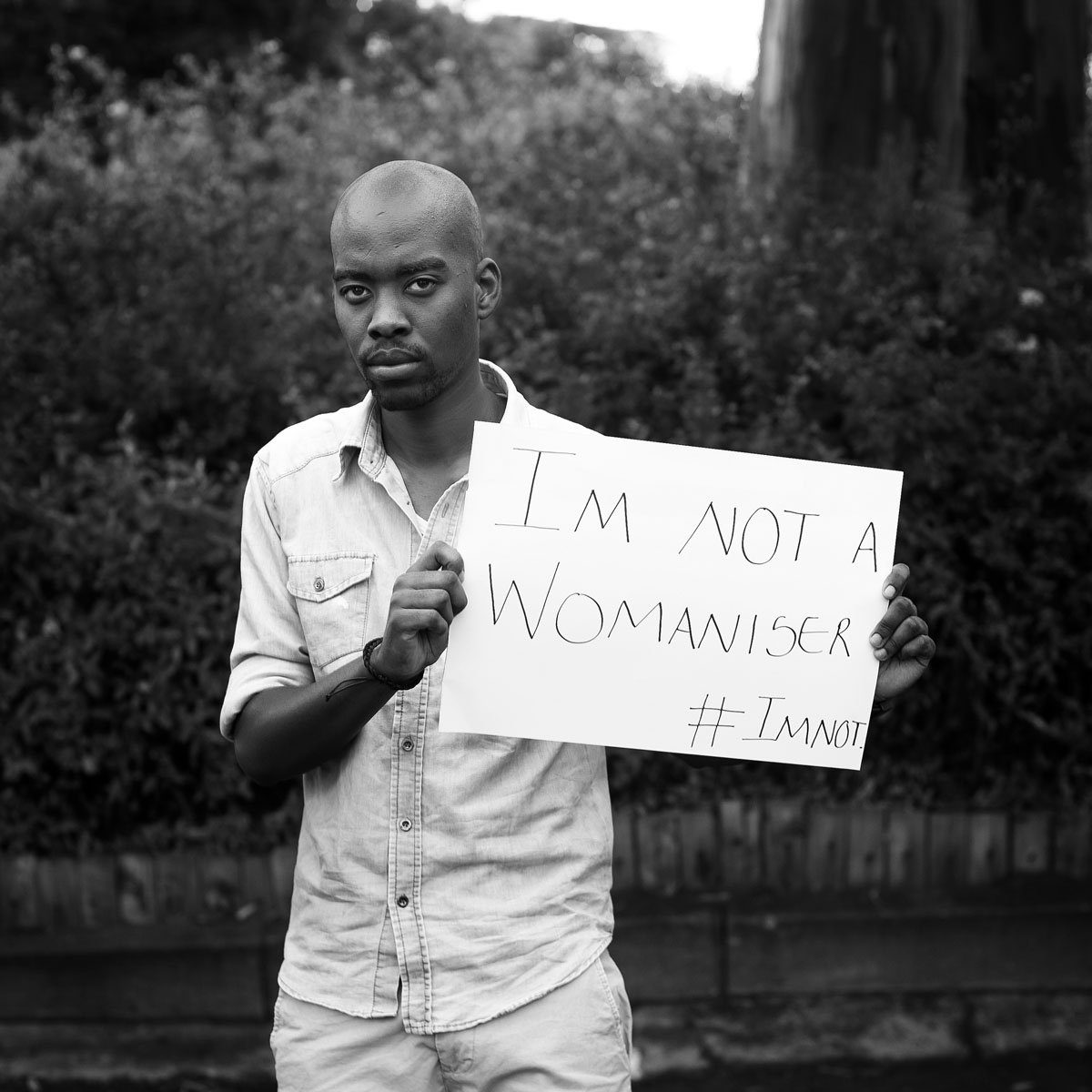#Imnot a womaniser