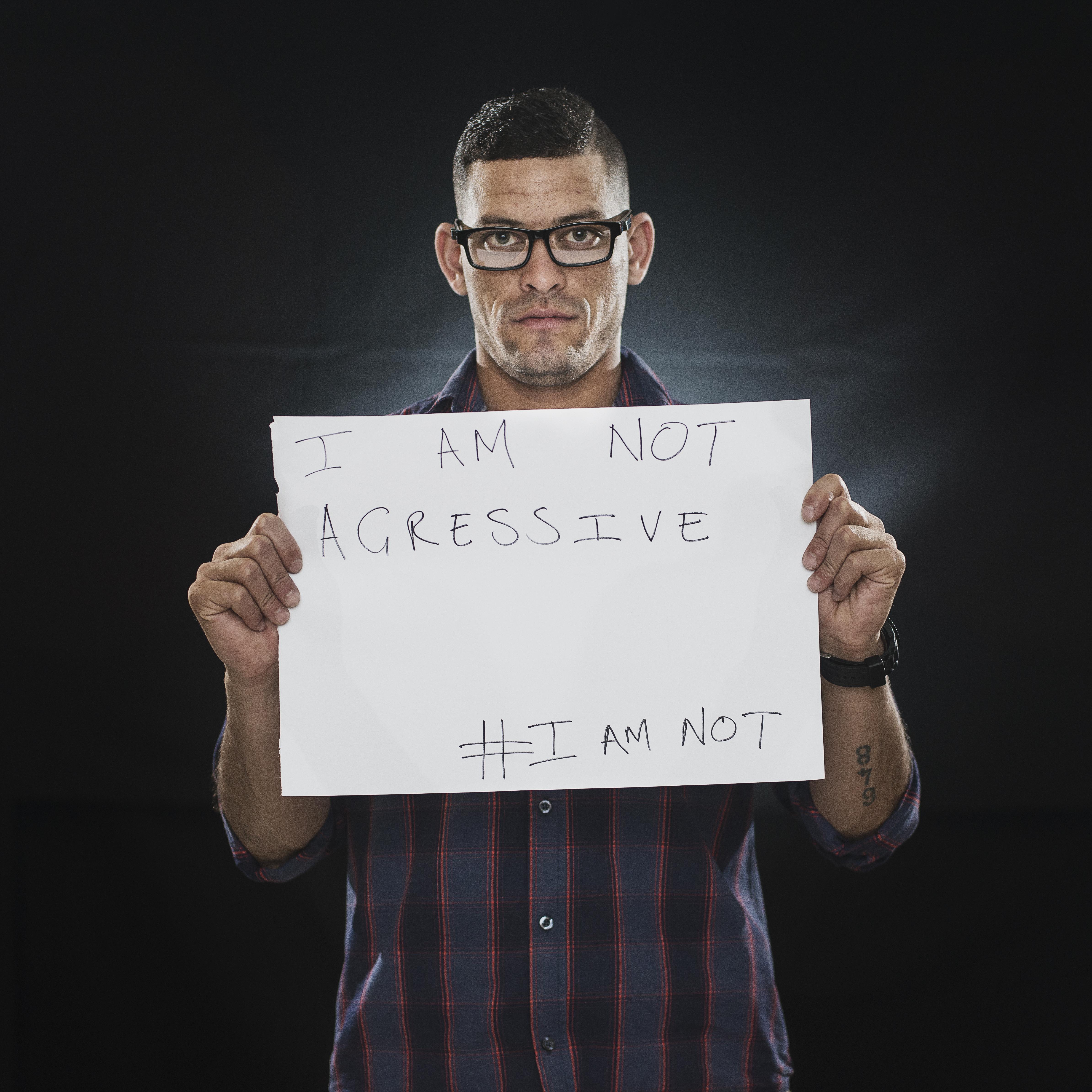 #Imnot aggressive