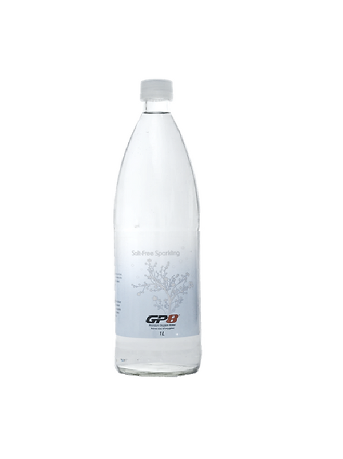 GP8 Oxygen Water 1L Sparkling x 12 (Glass)