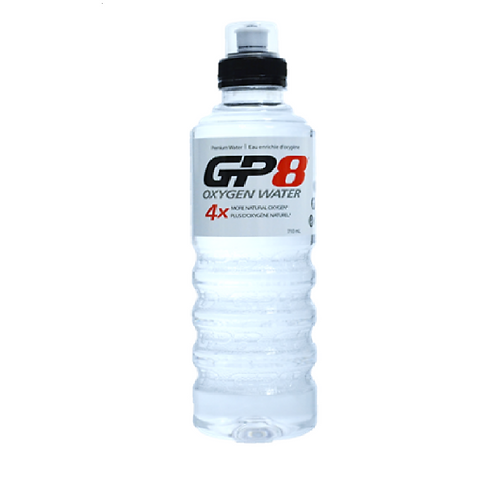 GP8 Oxygen Water 710ml Sports Cap x 12