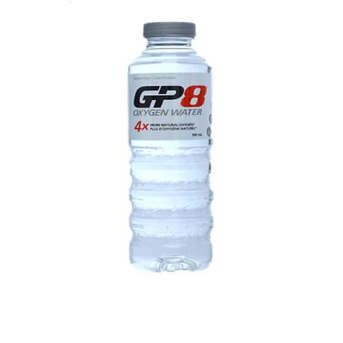 GP8 Oxygen Water 500ml x 24