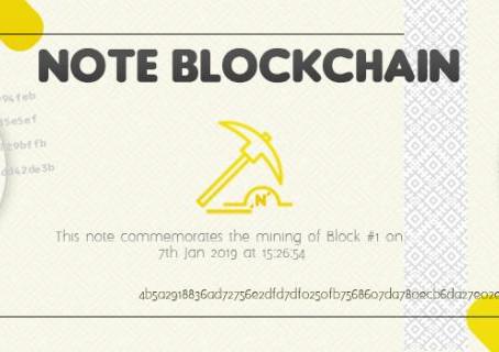 How Note Blockchain Got Started: Part 2